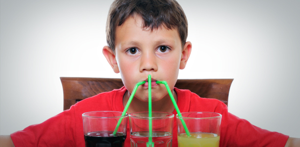 Canadian kids drink too much pop