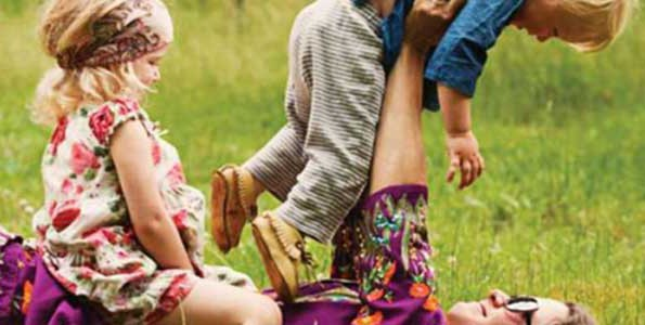 Hundreds of outdoor activity ideas for kids in new book