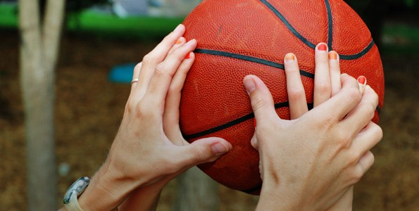 This dribbling activity teaches basic bouncing, enhances eye-hand coordination