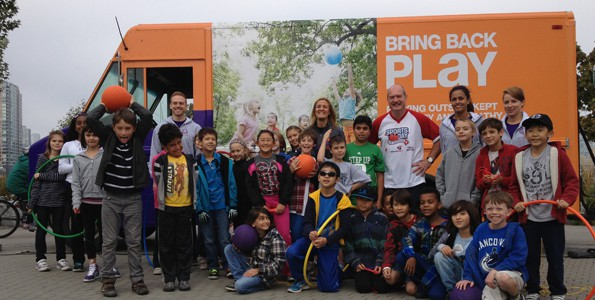 Bringing back play: Participaction's Kelly Murumets