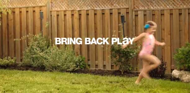 Participaction's latest campaign is Bring Back Play