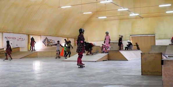 Afghanistan's girl skateboarders