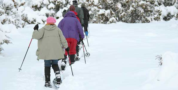 Exploring winter sports is a family affair