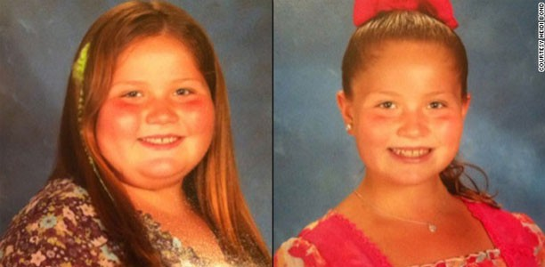 Nine-year-old girl loses 65 pounds