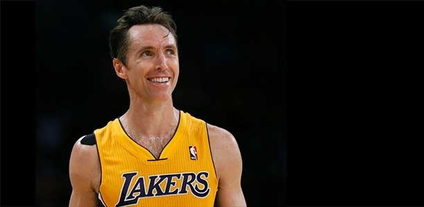 Win a shoe autographed by Steve Nash and a $200 Sport Chek gift card