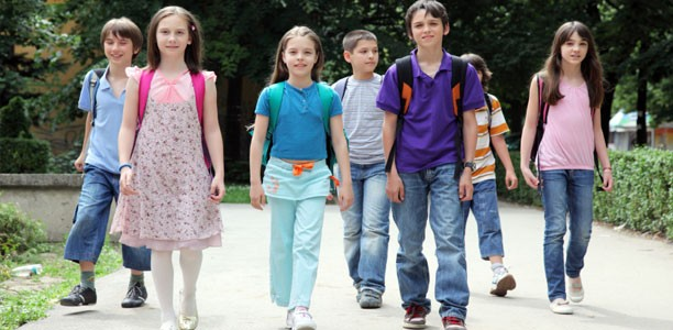 Why your kids should walk to school