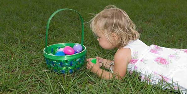 Play it! Plastic egg toss