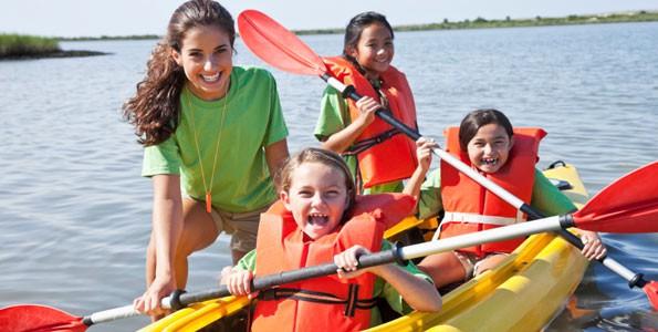 Des camps d'été pour de l'activité physique amusante