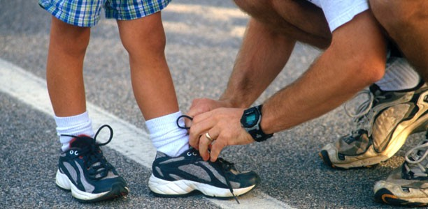 Running: How to encourage your kids