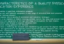 12 characteristics of a quality physical education experience