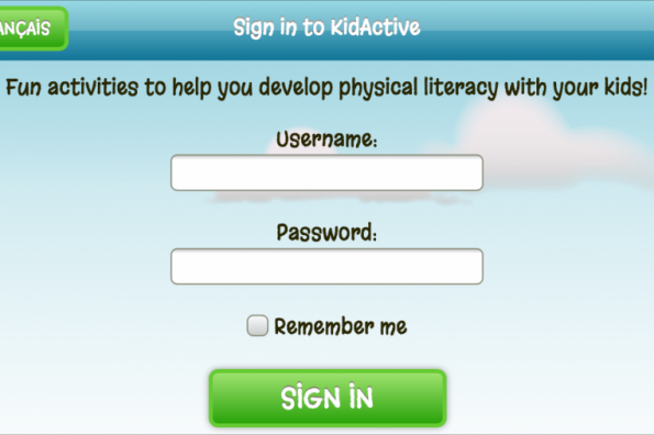 Our free KidActive app is now bilingual
