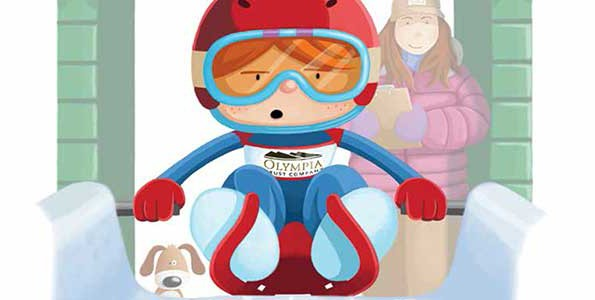"""Lucy Tries Luge"" makes it easy for kids to connect to the Olympic sport"