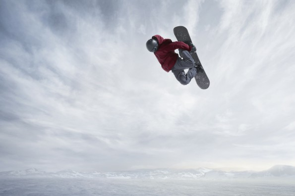 Experience Olympic snowboarding with your kids