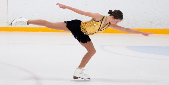 First steps to becoming a figure skater