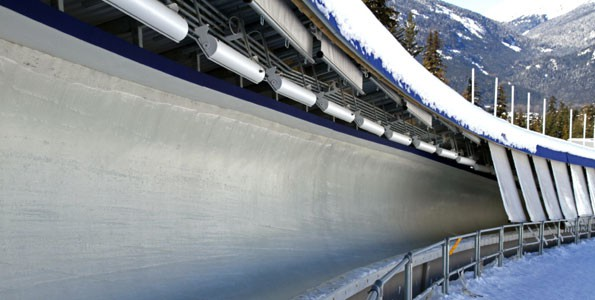 Experience Olympic skeleton with your kids
