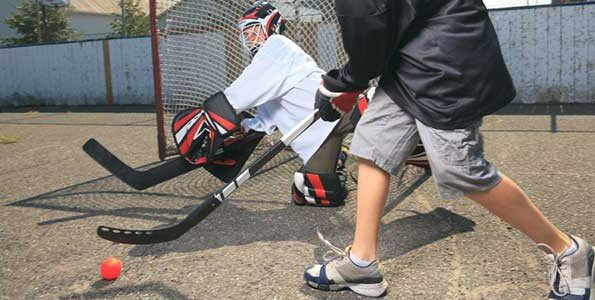 AfL Mini-Games: How your kids can play hockey at home