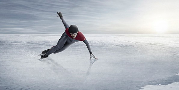 Short-track star Charles Hamelin makes sure he's having fun when skating fast