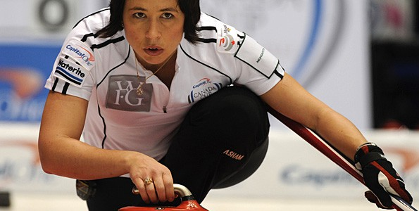 Having an active family was key for Canadian curler Jill Officer