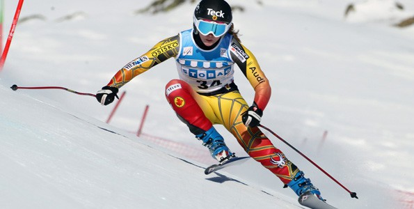 Olympian Kelly Vanderbeek wants her son to learn how to lose