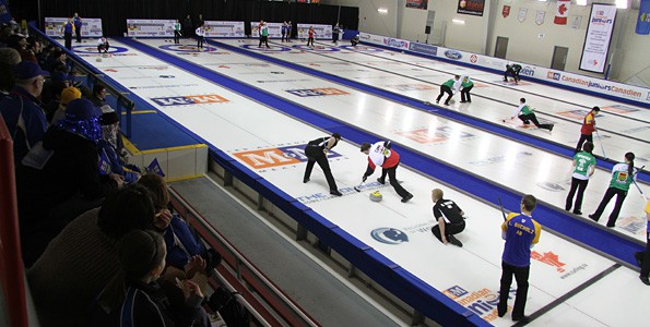Experience Olympic curling with your kids