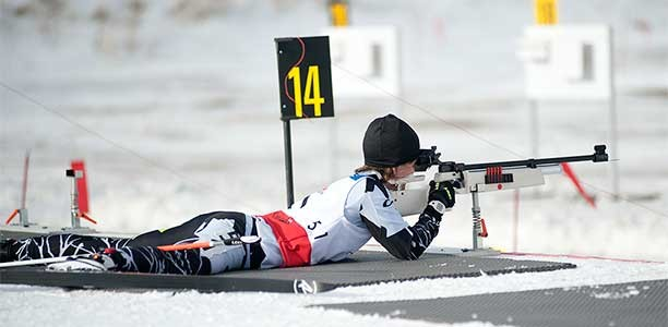 Para-Nordic skier Caroline Bisson finds confidence and success in the snow