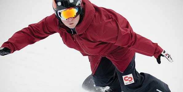Tyler Mosher represents Canada in the sport of Para-snowboard