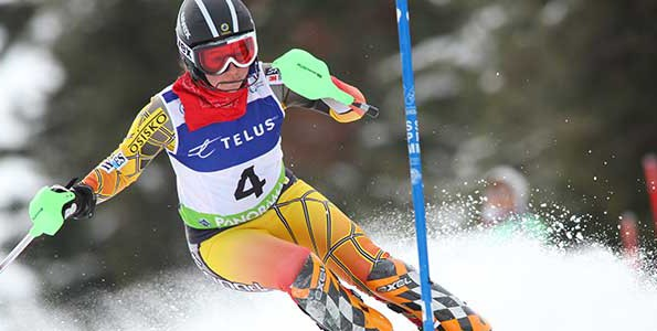 Paralympic downhill skier Alexandra Starker credits sport for confidence and determination