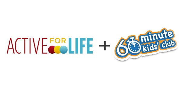 Active for Life and 60 Minute Kids' Club create partnership for physical literacy