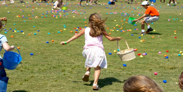 Our neighbourhood egg hunt saves me from creating my own Easter extravaganza