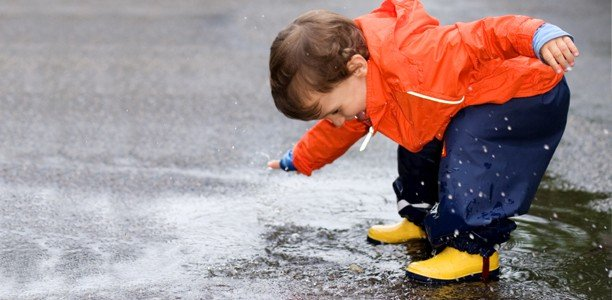 Rainy days: 20 ways you can get your kids active outside anyway