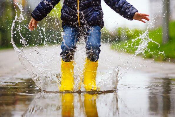 Les jours de pluie : 20 idées pour faire sortir vos enfants malgré tout