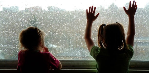 Rainy days: 6 ways you can avoid the drops by getting your kids active inside