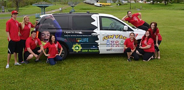 Nova Scotia kids get to catch a ride on the Fun Van this summer