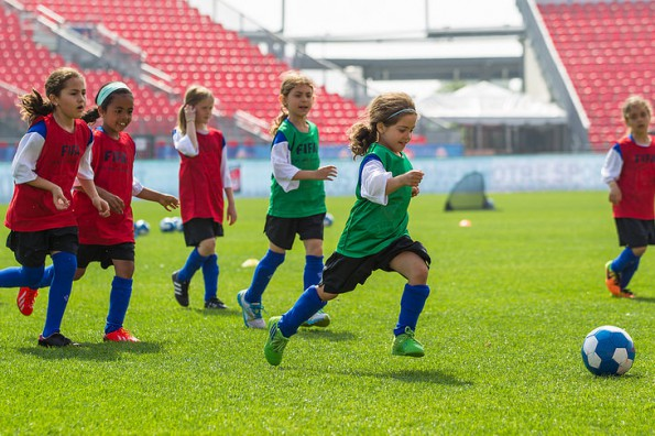 Soccer can play an important role in the development of physical literacy