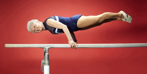 This 87-year-old gymnast got her start at a young age