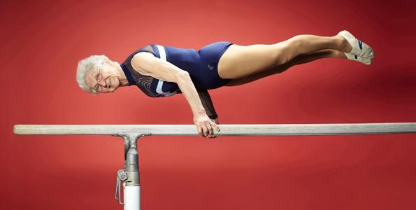 Cette gymnaste de 87 ans a commencé très jeune