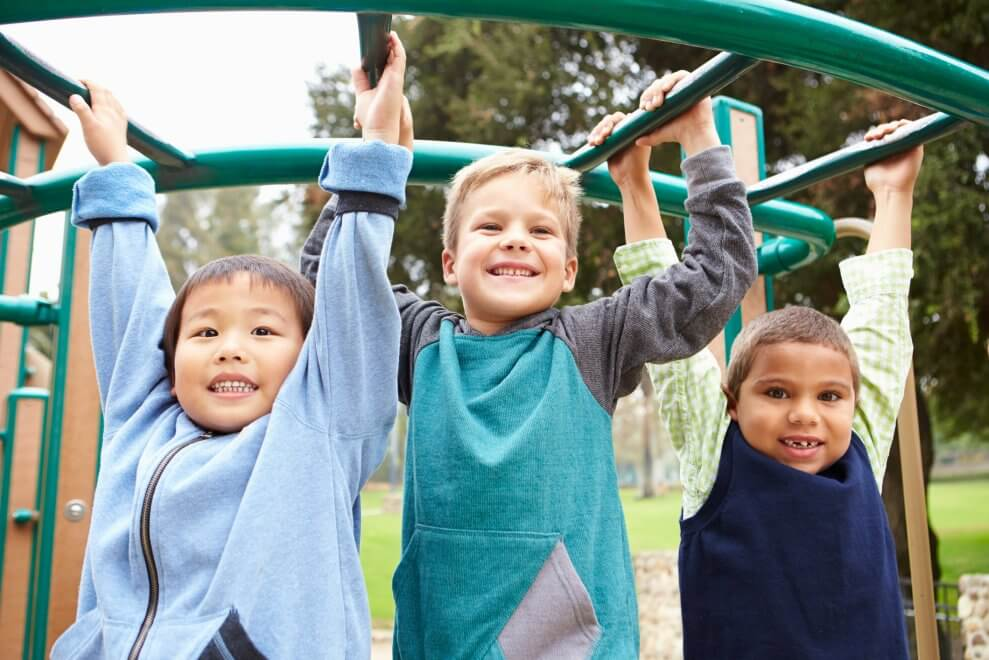 Playground zen, or how I learned to keep worrying but let my kid fall -  Active For Life