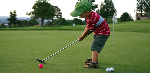 When To Start Your Kid Playing Golf