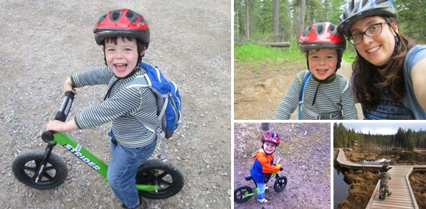My son asked me to go bike riding with him; it was a revelation
