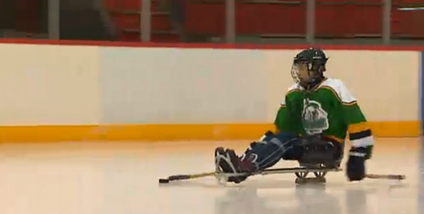 Challenges, but no obstacles for this remarkable para-athlete