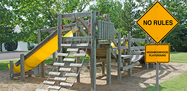 The Unsafe Child Less Outdoor Play Is >> What Happens When Kids Are In A Playground With No Rules Active