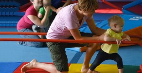 Le Petit Gym permet à vos petits d'explorer en toute sécurité