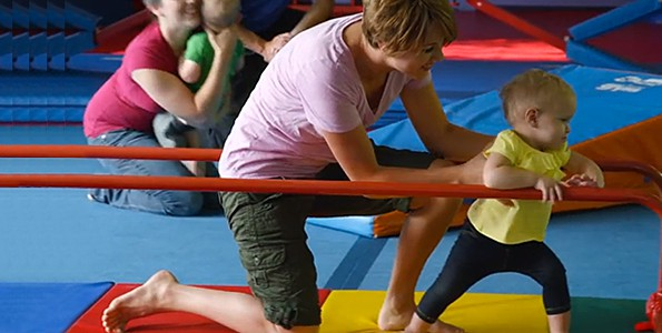 The Little Gym lets your little ones explore safely
