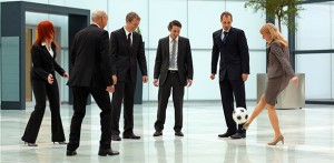 female-exec-soccer-ball