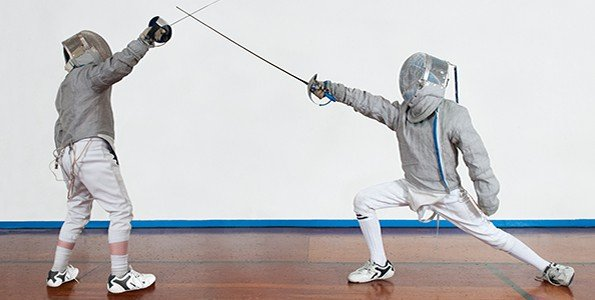 How fencing is like hockey, and why kids love it so much