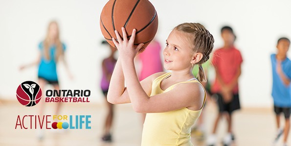 Ontario Basketball partners with Active for Life to promote physical literacy