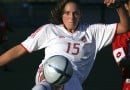 What helped Kara Lang become Canada's youngest senior soccer player