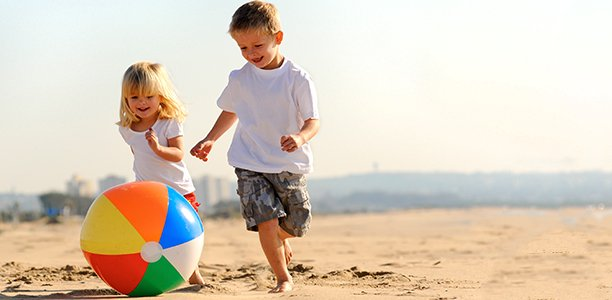 21 Fun And Active For Kids To Play On The Beach