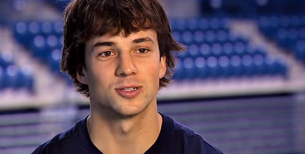 Kevin Pangos and his basketball-loving family
