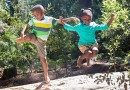 Turn your kids into active, nature ninjas with this fun twist on a scavenger hunt